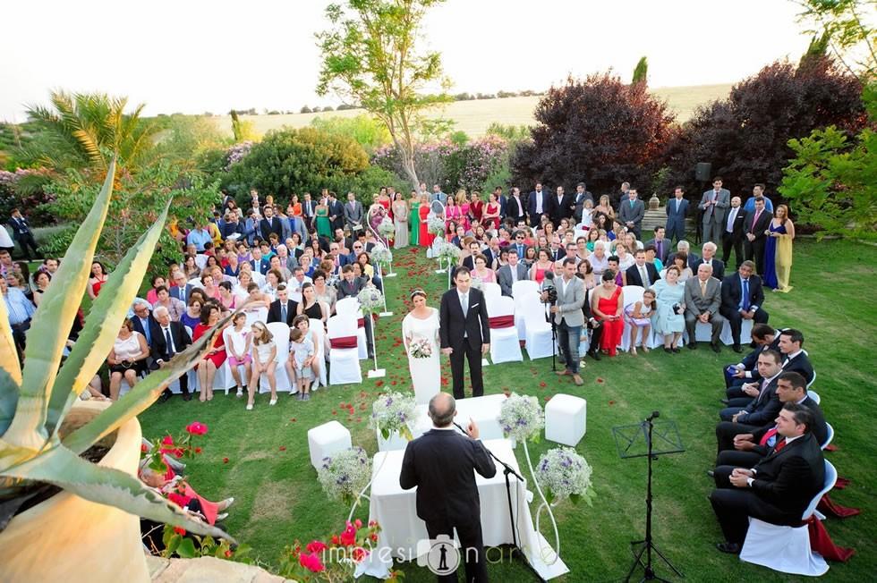 Ceremonia civil en Hacienda Los Molinillos 3