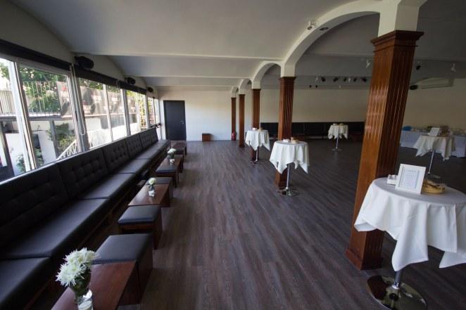 Salón Bitácora del Restaurante Río Grande en Sevilla, durante la celebración del cumpleaños de Jesús