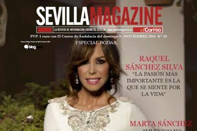 De boda con Ángela en Sevilla Magazine
