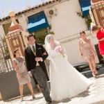 Una boda muy íntima y familiar para Antonio y Ana