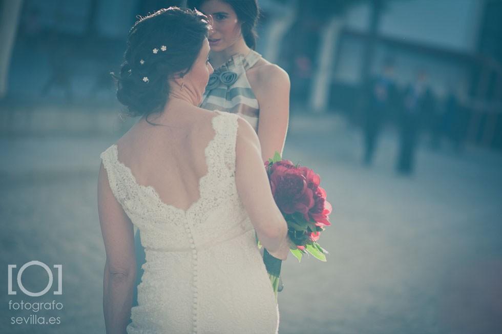 Ángela Caparroz de De boda con Ángela ayudando a nuestra novia Marta