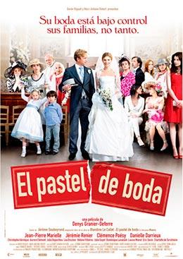 """Carátula de la película """"El pastel de boda"""""""