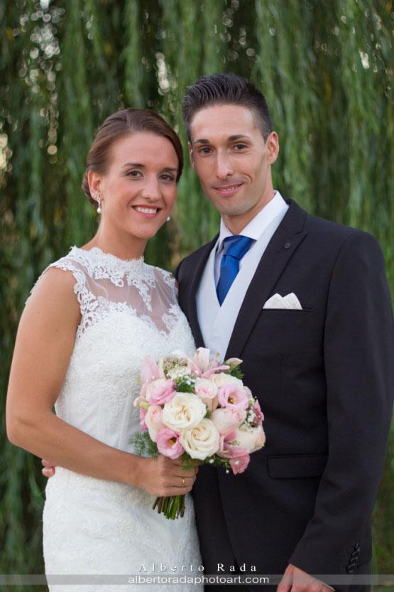 Sesión de fotos en la boda de Javier y María