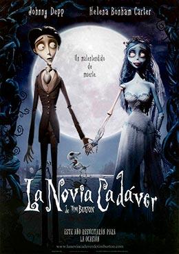 "Carátula de la película ""La novia cadáver"""