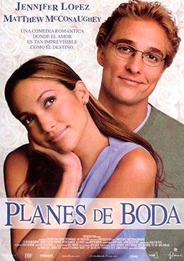 """Carátula de la película """"Planes de boda"""""""