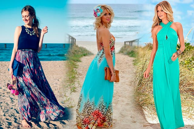 Un vestido para una boda en la playa