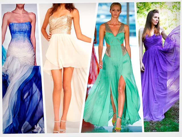 Vestidos de fiesta para bodas invitadas