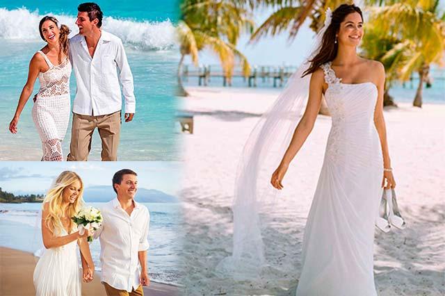 Vestidos de novia para una boda en verano