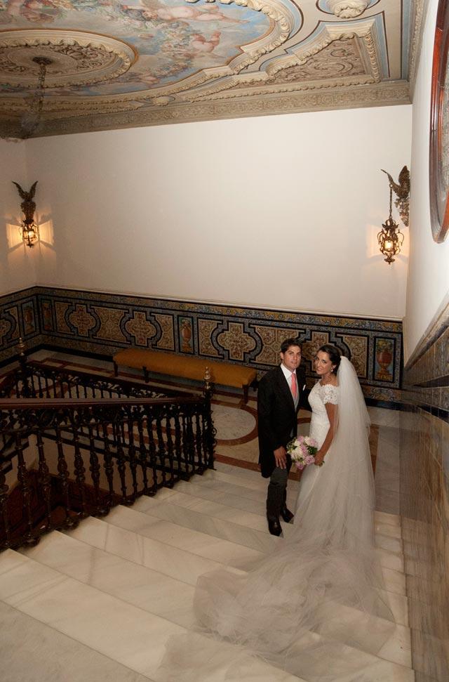 En el interior del Hotel Alfonso XIII