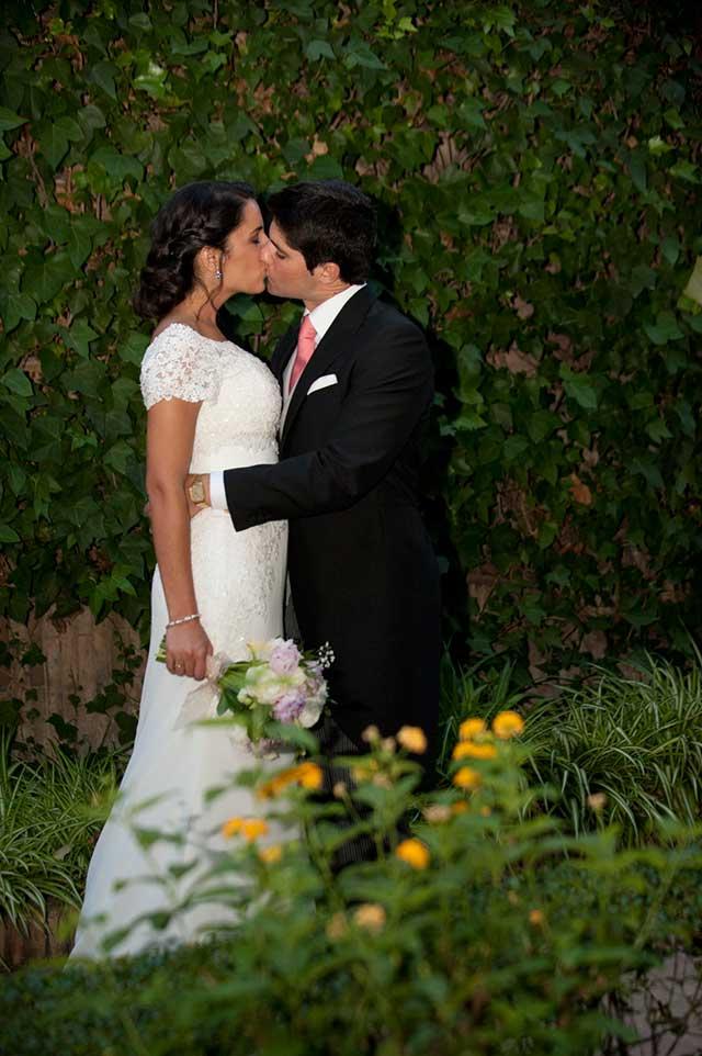 Nuestros enamorada pareja de novios Carmen y Joaquín