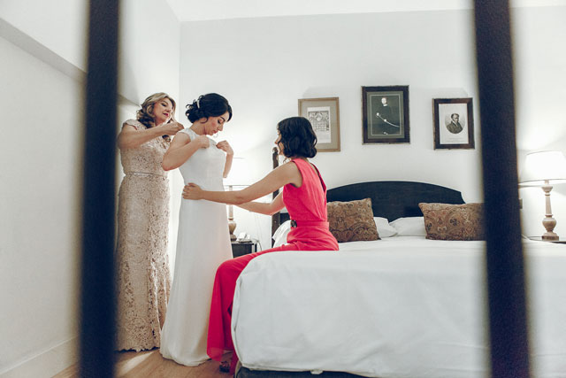 El vestido es el modelo Efigie de Rosa Clará, de su colección 2016