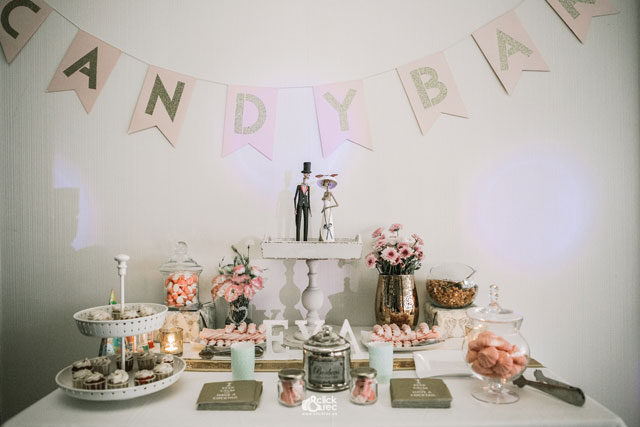 Detalles del Candy Bar