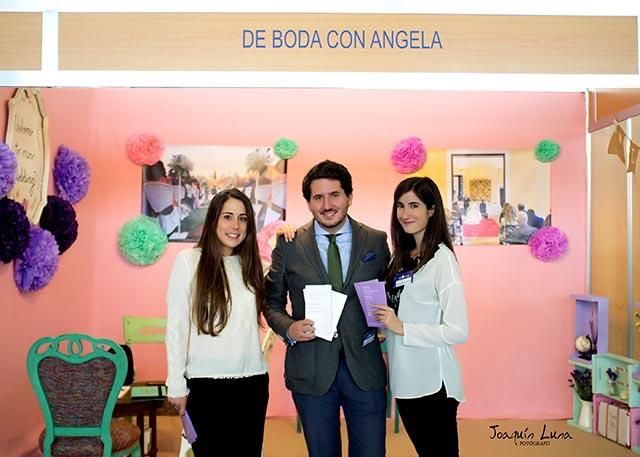 En nuestro stand en la Feria de la boda, Bodasur en Jerez