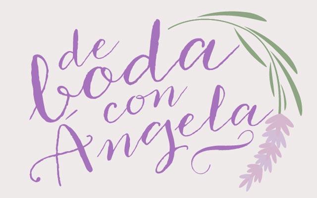 Nuestro logo en De Boda con Ángela