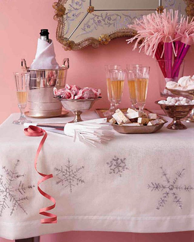 Mesa dulce para brindar en nuestra boda en fin de año