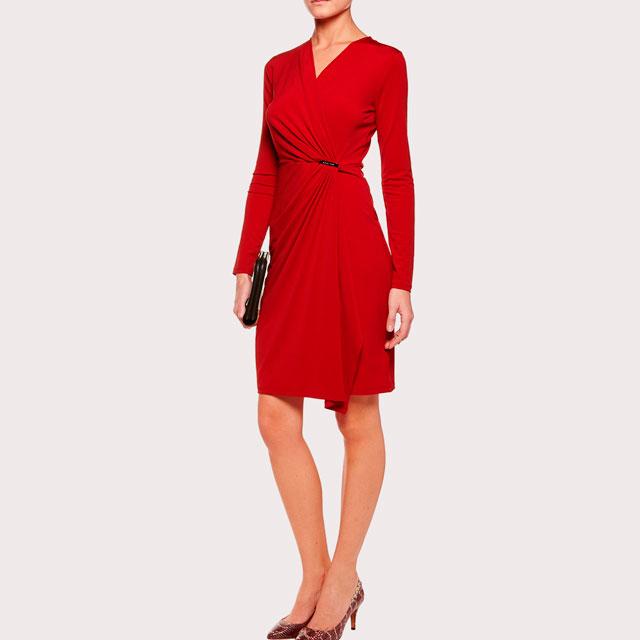 Vestido rojo de Michael Kors