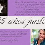 6 Ideas para vuestras invitaciones de bodas de plata