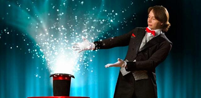 Contratar un mago es una buena idea para entretener a los niños en una boda