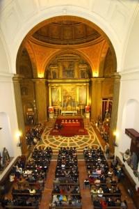 La iglesia de la Anunciación es un lugar precioso donde celebrar bodas con un gran número de invitados