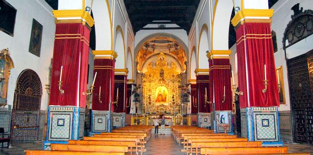 San Juan de la Palma es una iglesia de las más bonitas de Sevilla para celebrar una boda de ensueño