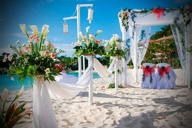Detalles de una boda en la playa (1ª parte)