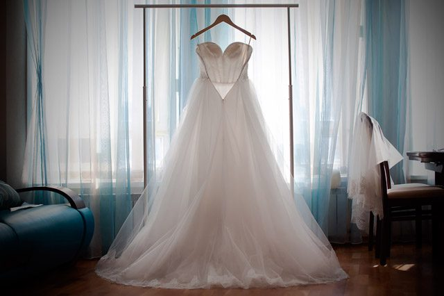 Qué hago con mi vestido de novia después de mi boda