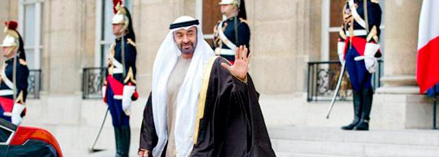 Mohammed bin Zayed Al Nahyan, príncipe de Abu Dhabi