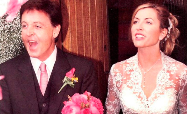 Imágenes de la boda de Paul McCartney y Heather Mills