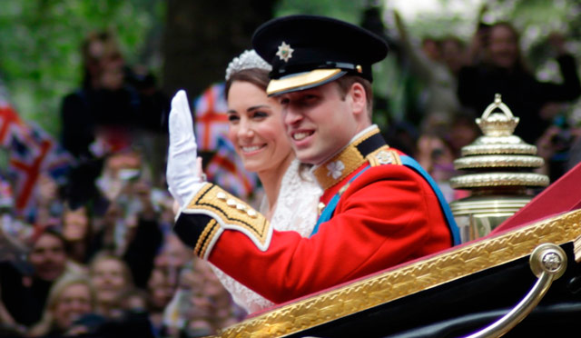 Los herederos de 'Lady Di': Los duques de Cambridge, Kate y William