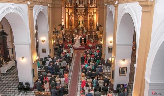 Decidiros por una iglesia preciosa si decidís casaros por el rito católico
