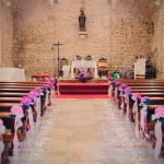 Cómo decorar el pasillo al altar para el día de tu boda