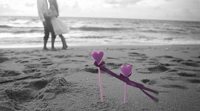 La playa es un lugar ideal para celebrar una boda en verano