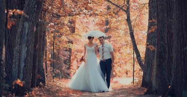 Una boda romántica e íntima