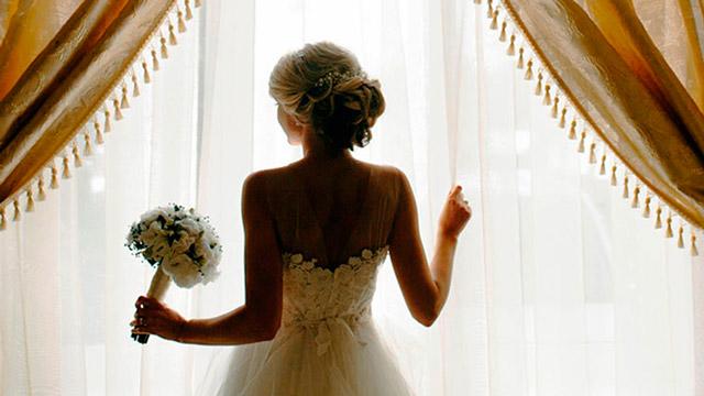 Lo mejor es que una novia esté tranquila antes de su boda