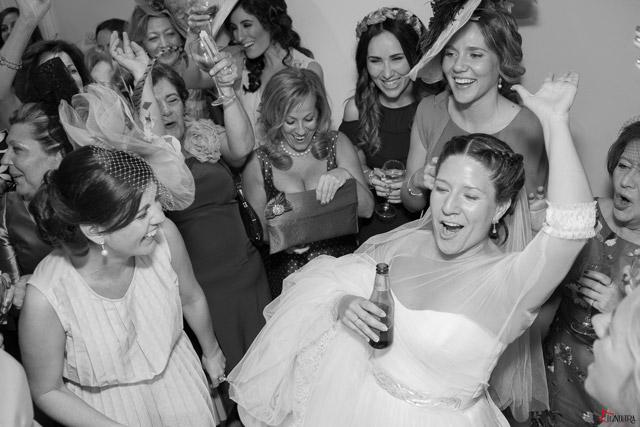 Nos encanta ver como nuestras novias disfrutan el día de su boda