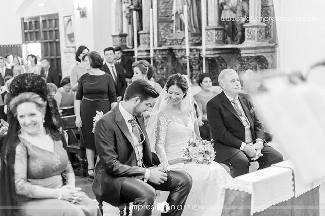 Momentos especiales durante la ceremonia de boda
