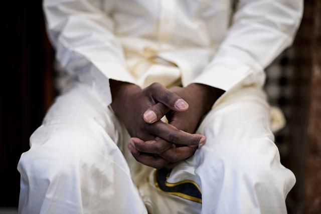 Pooj antes de su boda hindú en Sevilla