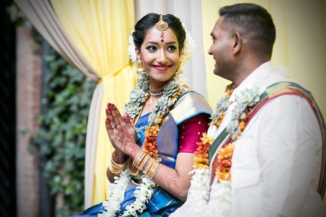 La boda hindú de nuestros amigos Pooj & Siva