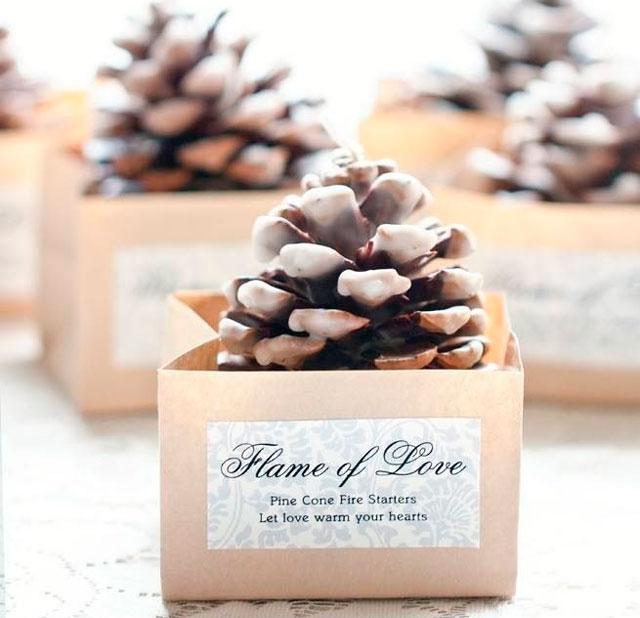 Idea original para hacer vosotros mismos un regalo DIY (hecho a mano) para los invitados a la boda