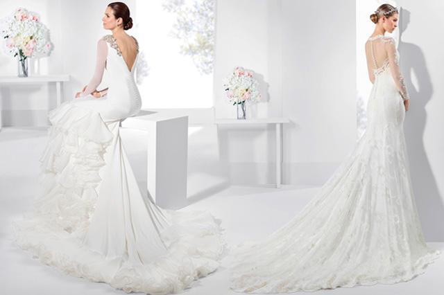 vestidos de novia con aire flamenco – hermosos vestidos