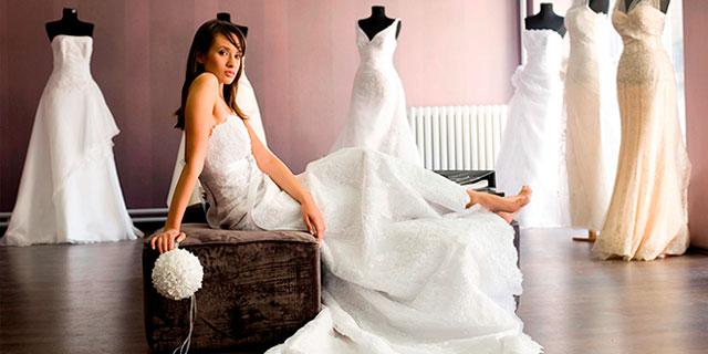La tradición del vestido blanco para novias