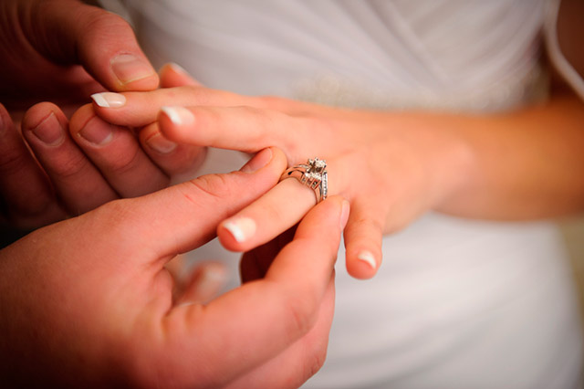 ¿Dónde poner las alianzas de bodas? ¿En la mano izquierda o en la derecha?