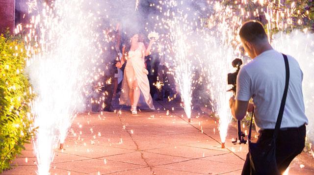 Pros y Contras a la hora de celebrar una boda de noche