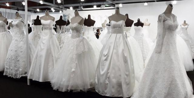 Dsitintos tipos de tela para vestidos de novia
