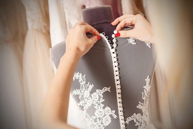 Tipos de telas para vestidos de novia