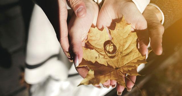 Ideas para tu boda si te casas en otoño o invierno
