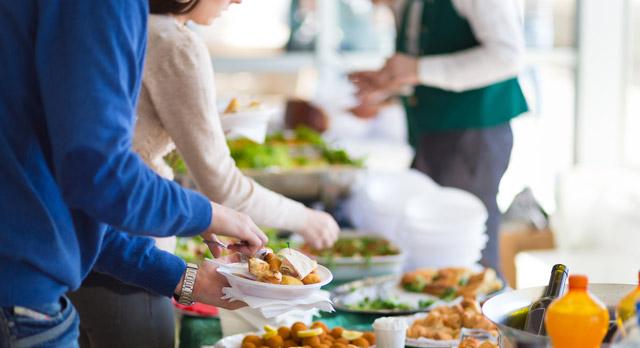 Catering para comidas y cenas de empresa en navidad