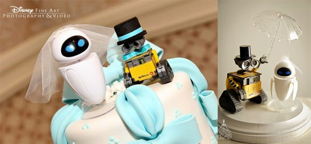 Figuras Pixar para tartas de bodas