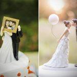 Más de 20 figuras originales para nuestra tarta de boda