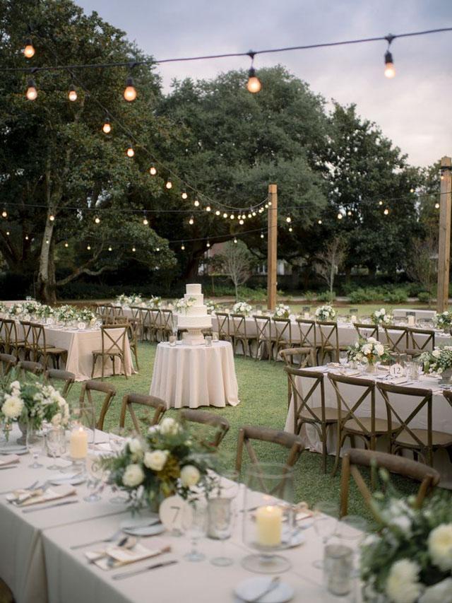 Decoración de mesas de bodas con estilo silvestre o campestre